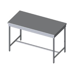 TABLE CENTRALE LARGEUR 700mm