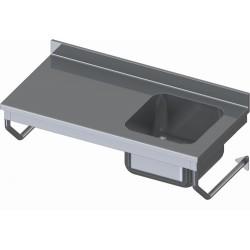 TABLE DU CHEF SUSPENDUE INOX